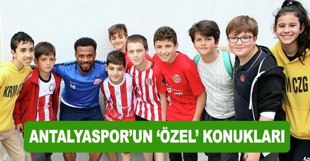 Antalyaspor'un 'özel' konukları