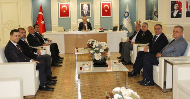 ATB heyetinden  başkanlar turu