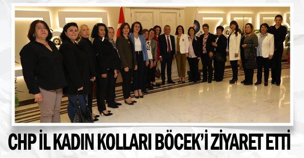 CHP İl Kadın Kolları Böcek'i ziyaret etti