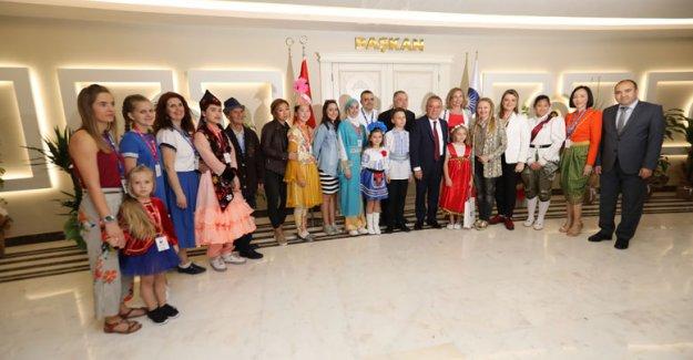 Dünya çocukları Büyükşehir'de