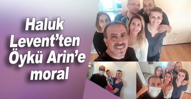 Haluk Levent'ten Öykü Arin'e moral