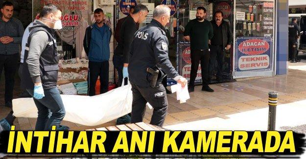 İNTİHAR ANI KAMERADA