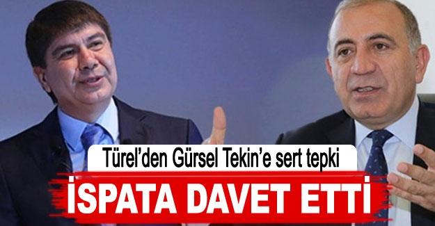 İSPATA DAVET ETTİ