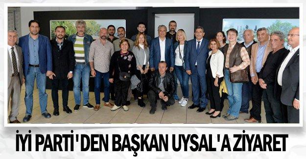 İYİ Parti'den Başkan Uysal'a ziyaret