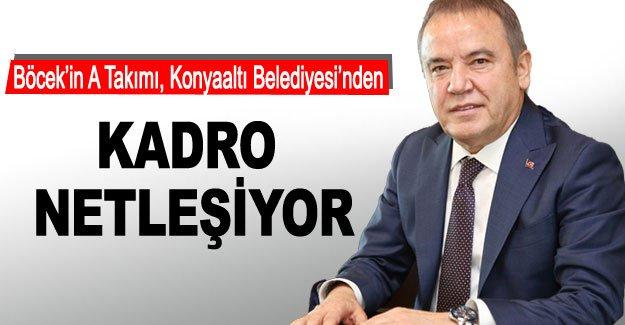 KADRO NETLEŞİYOR