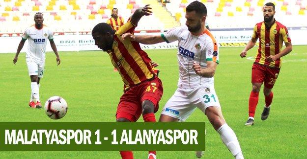 Malatyaspor: 1 - 1 Alanyaspor