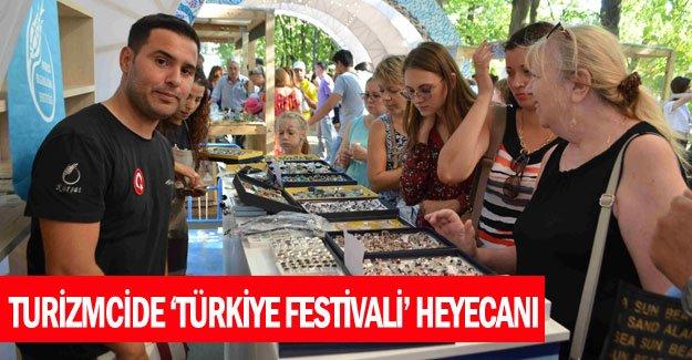Turizmcide 'Türkiye Festivali' heyecanı