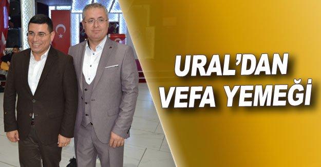Ural'dan vefa yemeği