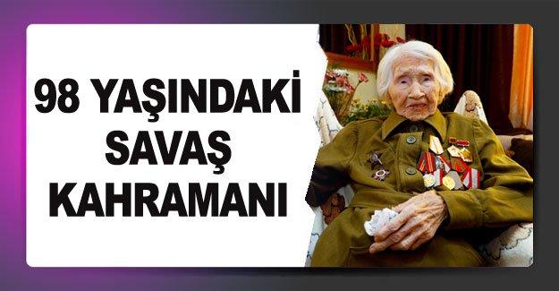 98 yaşındaki savaş kahramanı