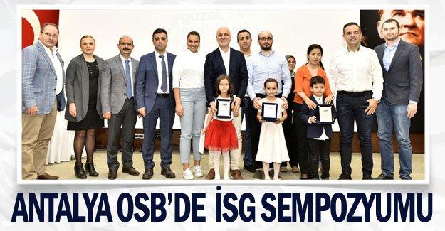 Antalya OSB'de İSG Sempozyumu