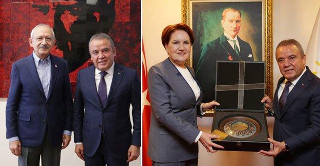 Böcek, Kılıçdaroğlu ve Akşener'i ziyaret etti