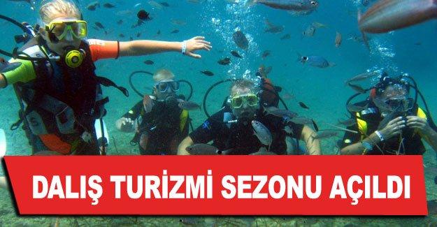 Dalış turizmi sezonu açıldı