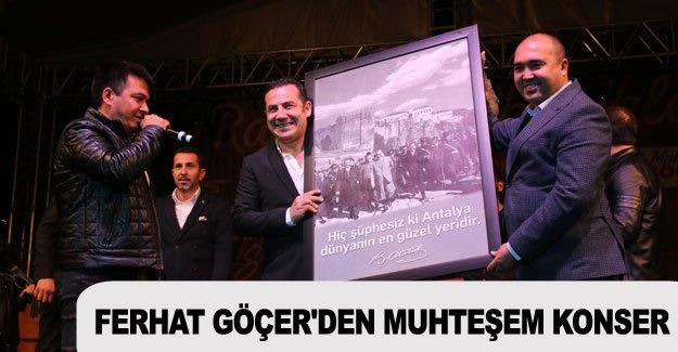 Ferhat Göçer'den muhteşem konser