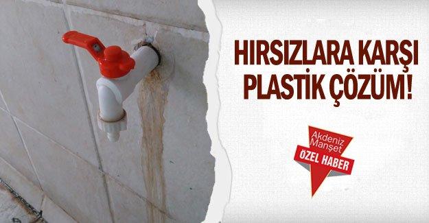 Hırsızlara karşı plastik çözüm!