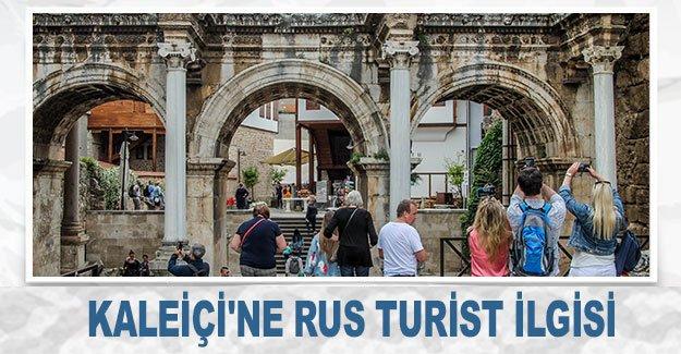 Kaleiçi'ne Rus turist ilgisi