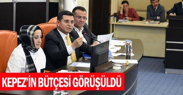 Kepez'in bütçesi görüşüldü