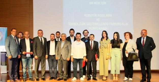 Manavgat'ta robotik kodlama konferansı