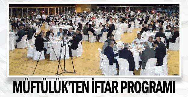 Müftülük'ten iftar programı