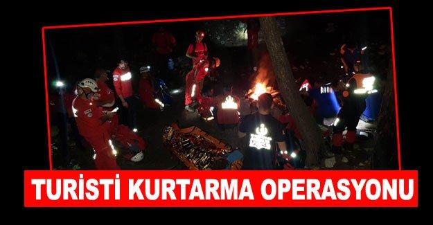 Turisti kurtarma operasyonu