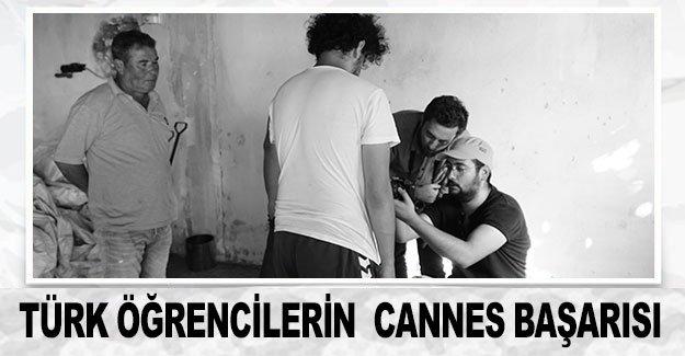 Türk öğrencilerin  Cannes başarısı