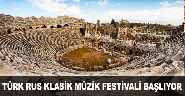 Türk Rus Klasik Müzik Festivali başlıyor