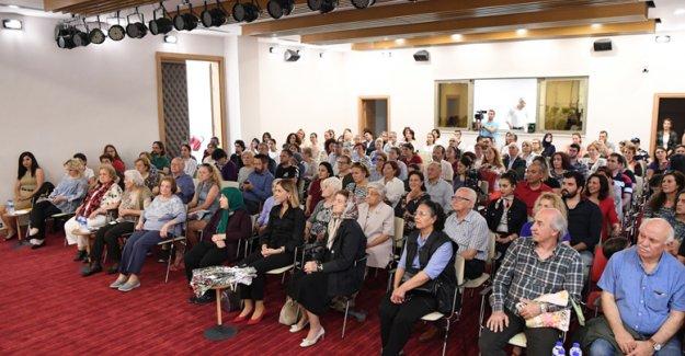 Yaşlılar kreşinde 'keman' konseri