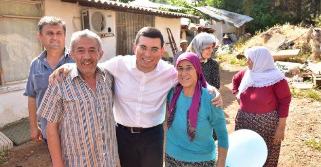 68 mahallede binden fazla ev ziyareti