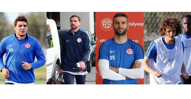 Antalyaspor'un askerleri