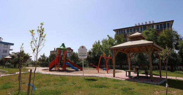 Ayanoğlu'na yeni park