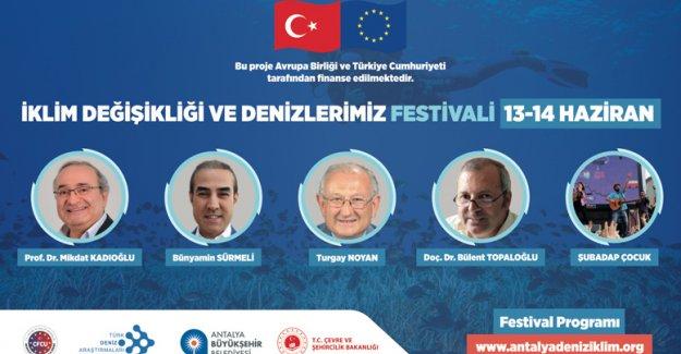 Büyükşehir'den deniz festivali