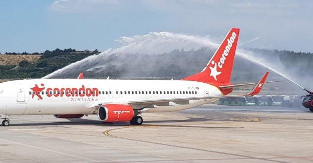 Corendon, İzmir uçuşlarına başladı
