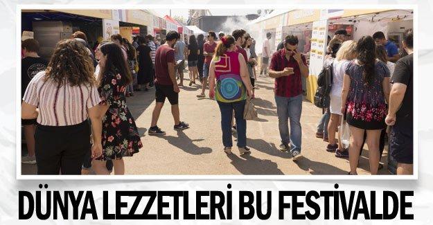 Dünya lezzetleri bu festivalde