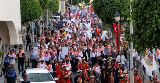 Festival, Yörük göçü ile başladı