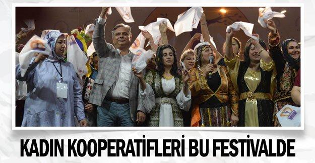 Kadın kooperatifleri bu festivalde