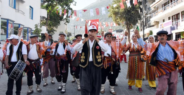 Kaş'ta festival heyecanı