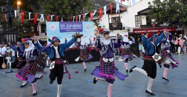 Likya-Kaş Kültür ve Sanat Festivali başladı