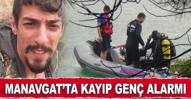 Manavgat'ta kayıp genç alarmı