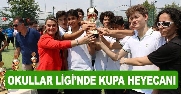 Okullar Ligi'nde kupa heyecanı