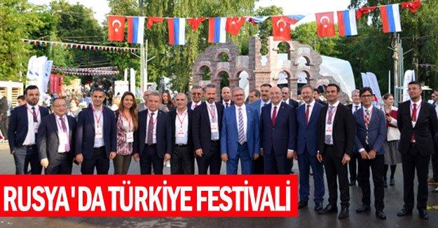 Rusya'da Türkiye Festivali