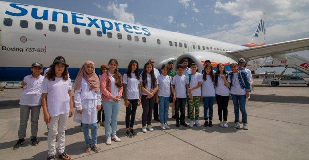 SunExpress'le tatil hayalleri gerçek oldu