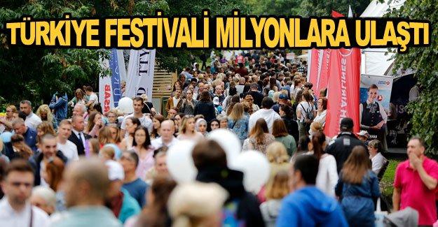 Türkiye Festivali milyonlara ulaştı
