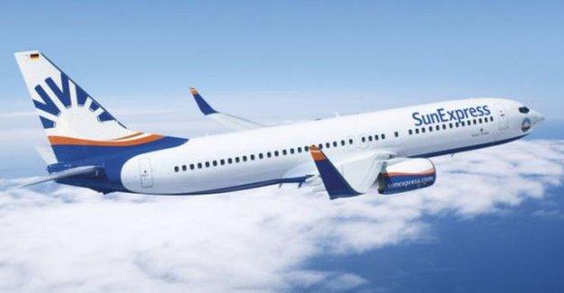 Türkiye'nin en iyi tatil havayolu SunExpress