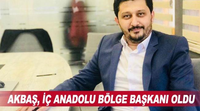 Akbaş,İç Anadolu Bölge Başkanıoldu