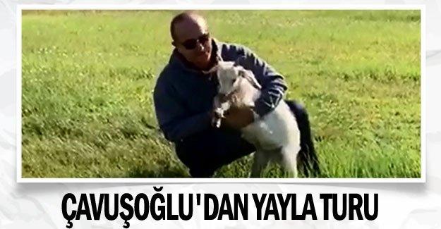 Çavuşoğlu'dan yayla turu