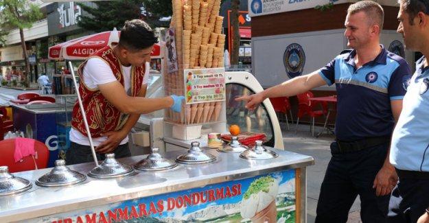 Dondurma fiyatları denetlendi