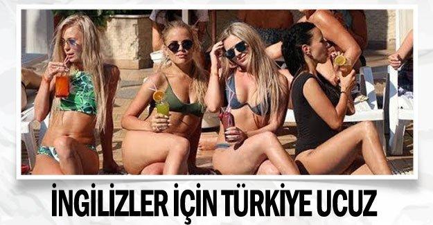 İngilizler için Türkiye ucuz