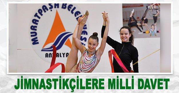 Jimnastikçilere milli davet