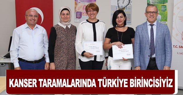 Kanser taramalarında Türkiye birincisiyiz