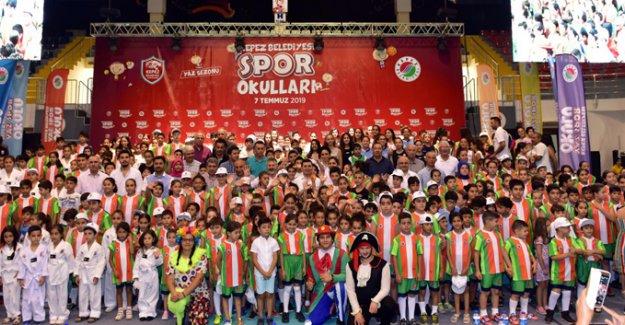 Kepezli çocuklara sportif tatil