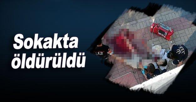 Kırgız genç sokakta öldürüldü
